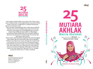 Buku ' 25 Mutiara Akhlak Wanita Shalihah'