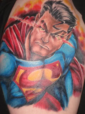 Superman Tattoo Design Picture Gallery - Superman Tattoo Ideas