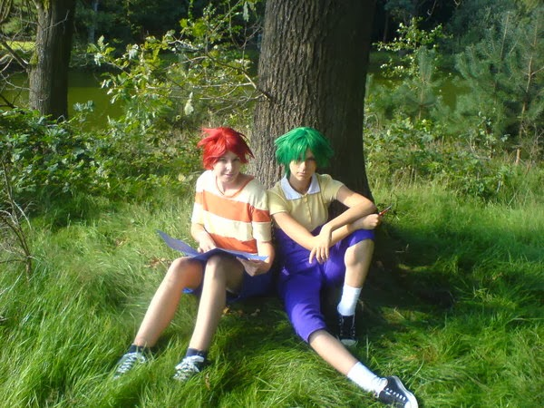 Cosplay Phineas e Ferb
