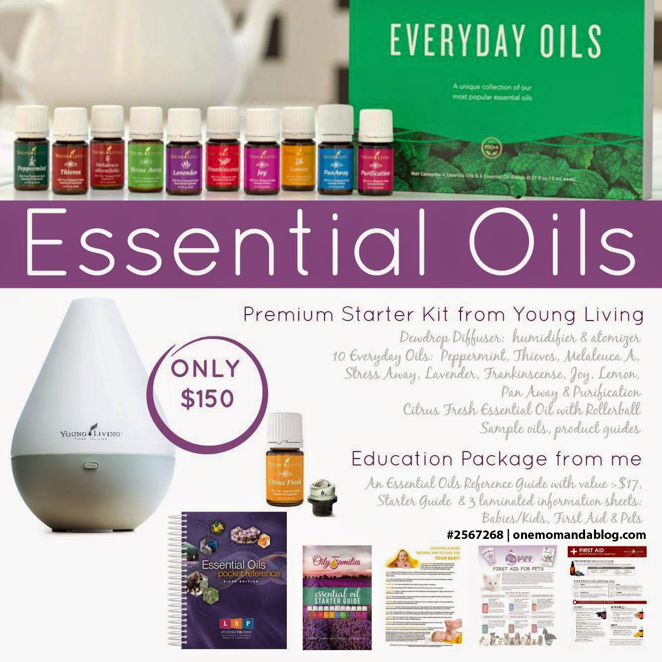 Premium Starter Kit from Young Living