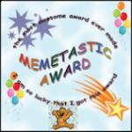 Memetastic Award