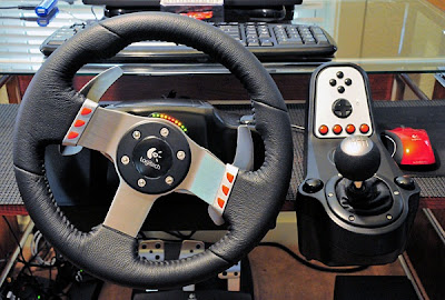 Logitech Racing Wheel G27 by SANDYTACOM