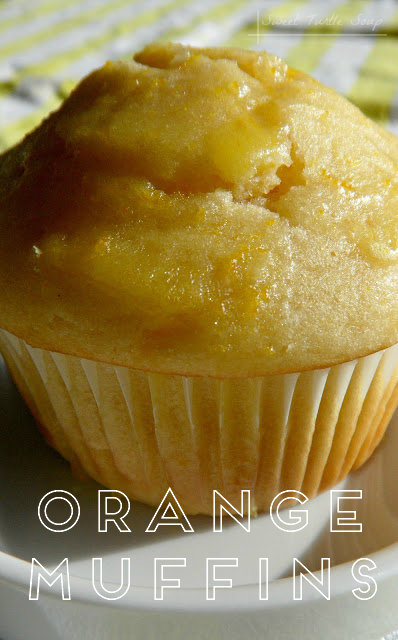 Sweet Turtle Soup: Orange Muffin