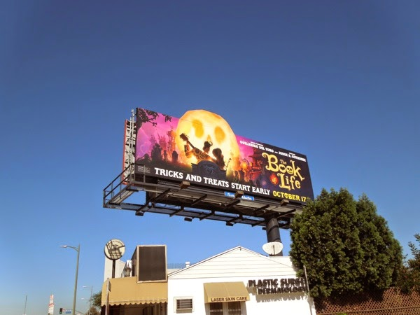 Book of Life special extension billboard