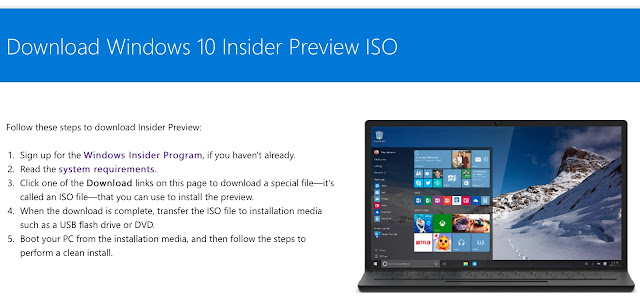 Download Windows 10 build 10565 ISO mới nhất từ Microsoft