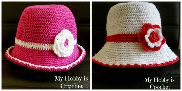 My Hobby Is Crochet: Toddler Cotton Sun Hat - Free Crochet ...