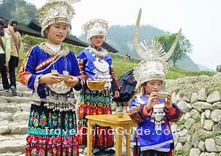 Miao Ethnic Minority in China
