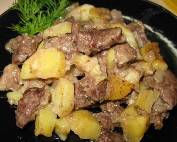 блюда из лосятины в мультиварке рецепты фото