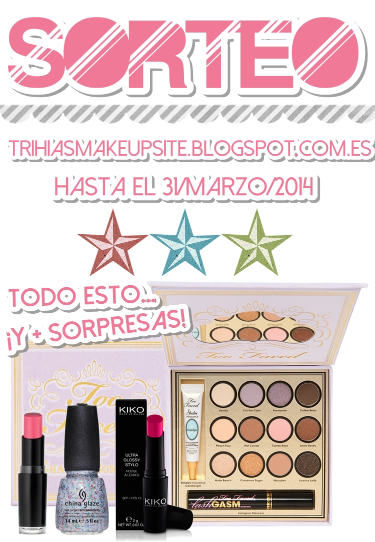 Sorteo Trihias Make Up Site.