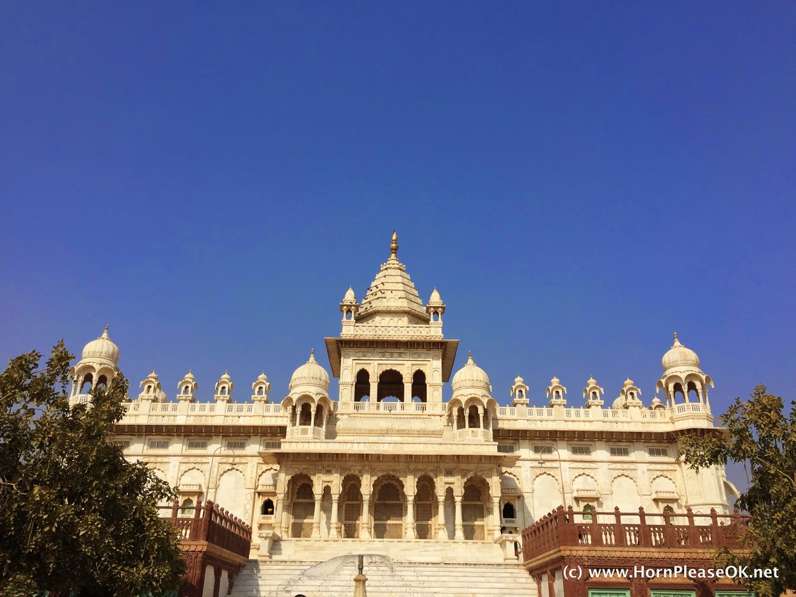 Jaswant Thada, a memorial to King Jaswant Singh II