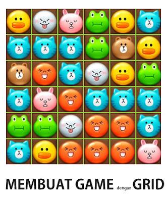 Membuat Game dengan Metode Grid - Actionscript 3.0