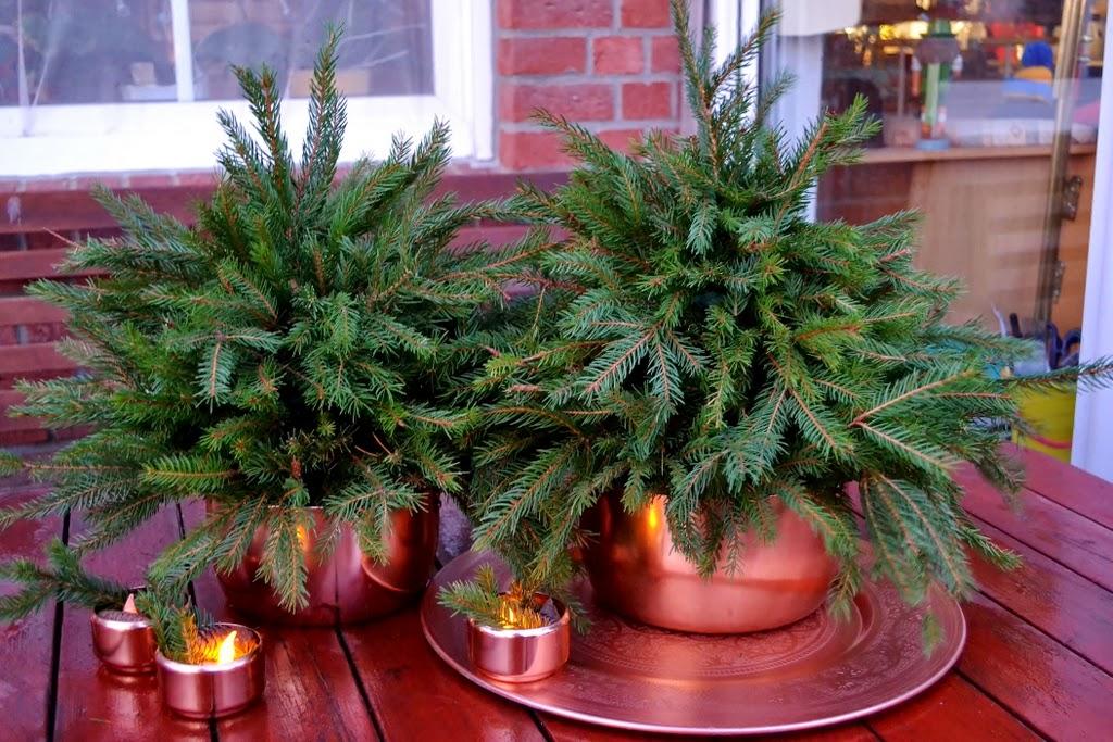 Teodeco a simple christmas table einfache weihnachtsdeko - Einfache weihnachtsdeko ...