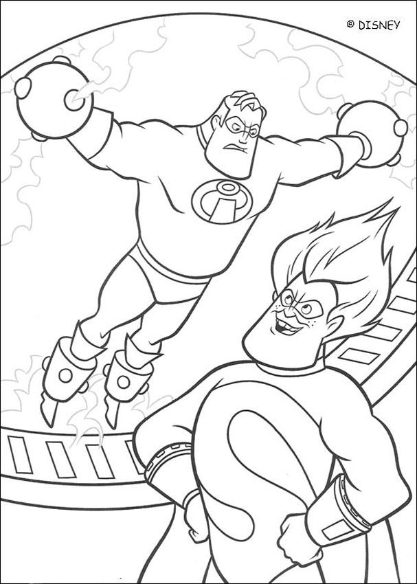 incredibles coloring pages - Free Coloring Pages Printables for Kids