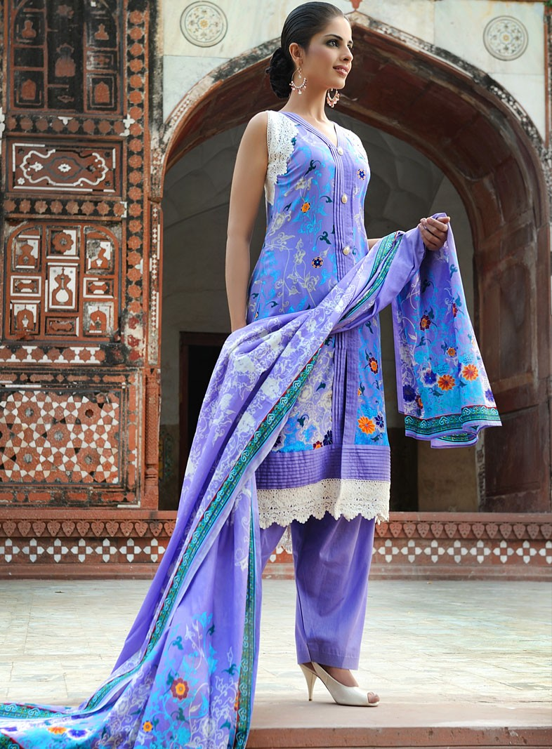 Gul Ahmed Lawn 2012-13 Collection | Latest Gul Ahmed Summer Designs