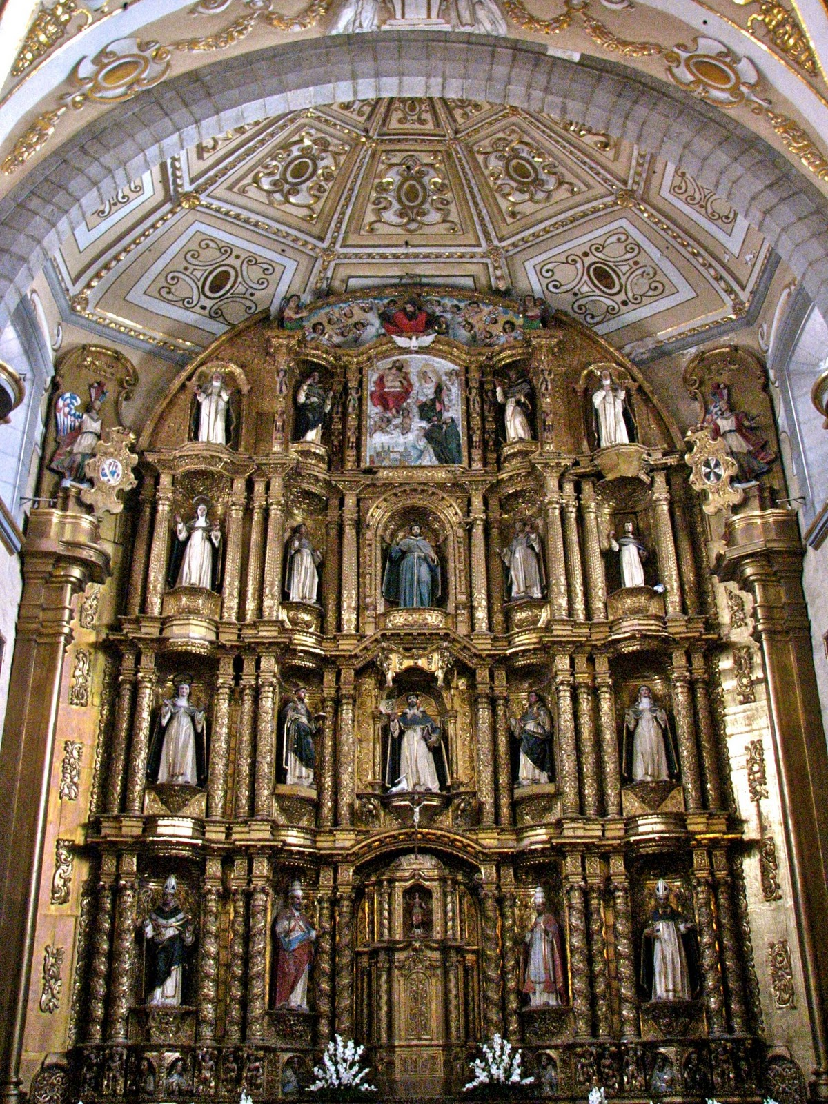 Jim carole 39 s mexico adventure puebla part 11 convent for Baroque style church