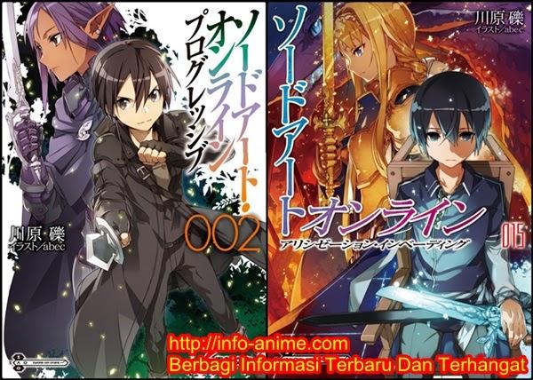 [ Info-Anime ] Sword Art Online Mendominasi Novel Dan MangaTerbaik Ditahun 2014