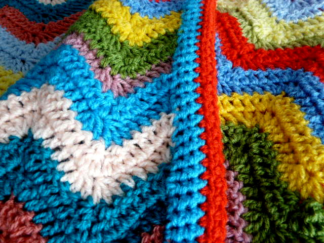 Crochet Yoh : ... you use US terms UK treble is a double crochet so just substitute dc