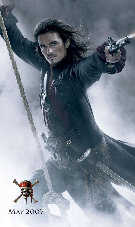 Orlando Bloom Pirates Caribbean At World's End poster