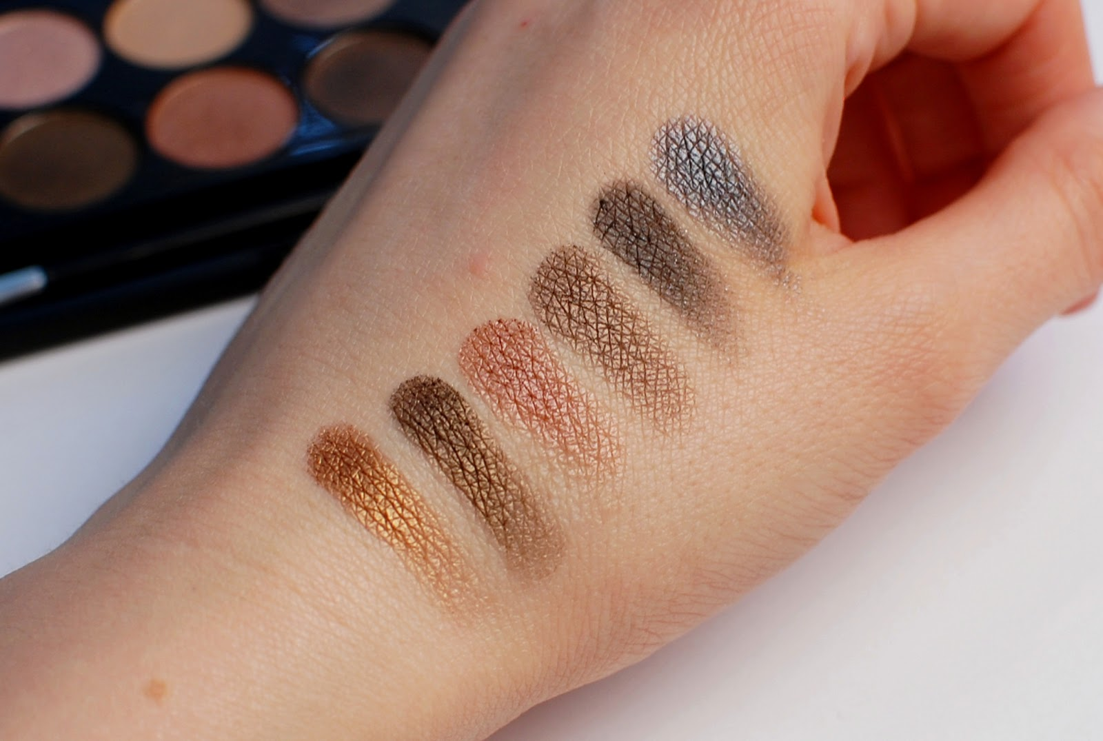MUA Undressed Swatches