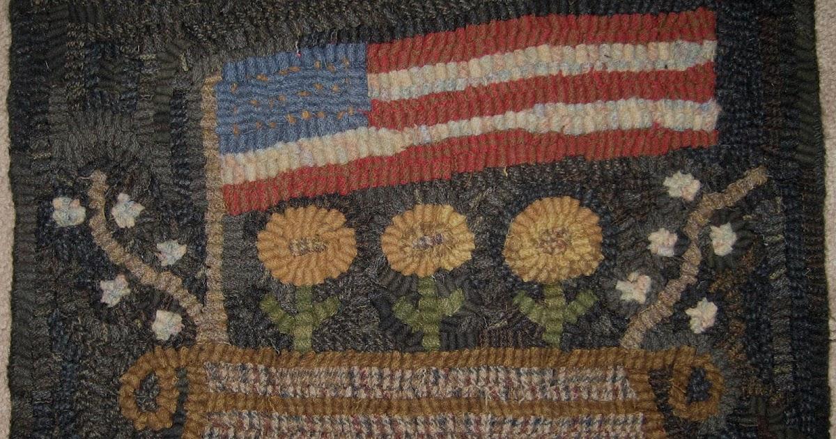 Americana Flag Rug