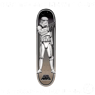 star wars x santa cruz skateboards x pinkviolence x ironxhanger ©