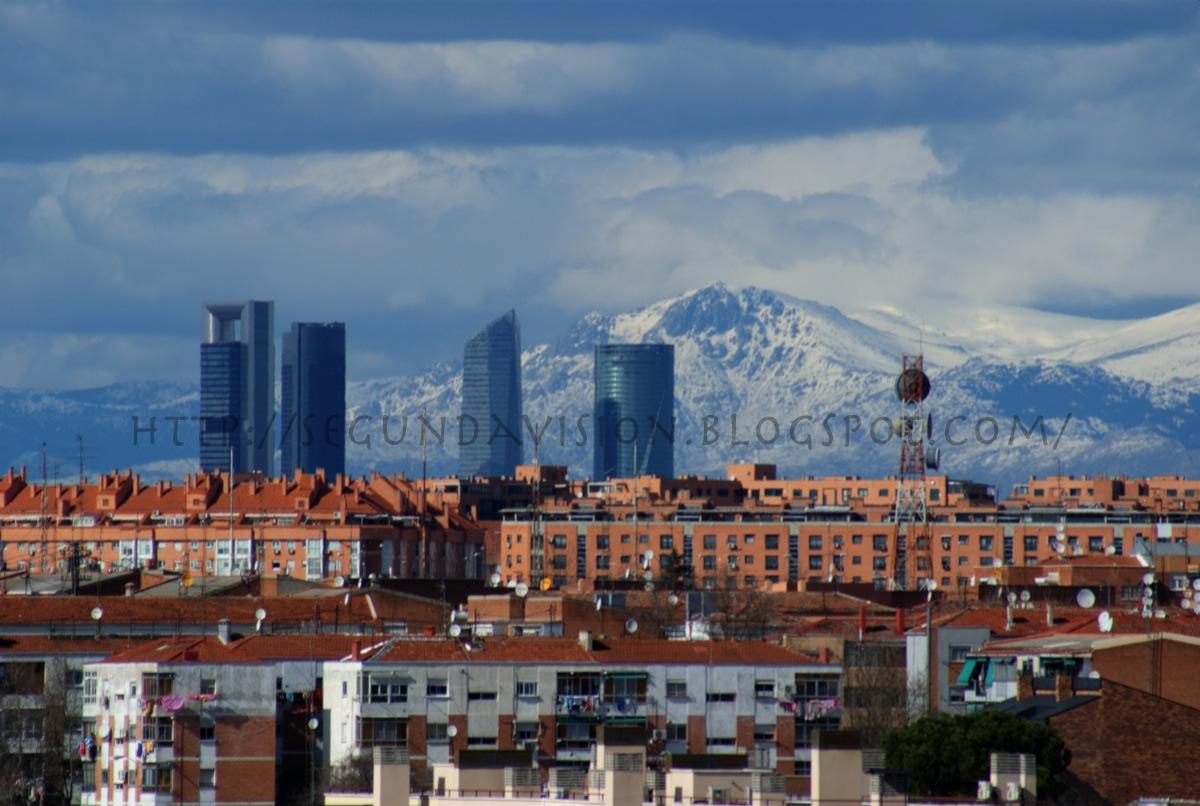 La segunda visión: Paisaje: La sierra de Madrid