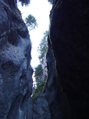 Canionul Sapte Scari, Muntele Mare