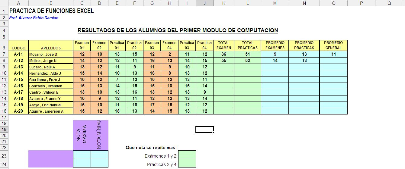 Excel Templates 2010