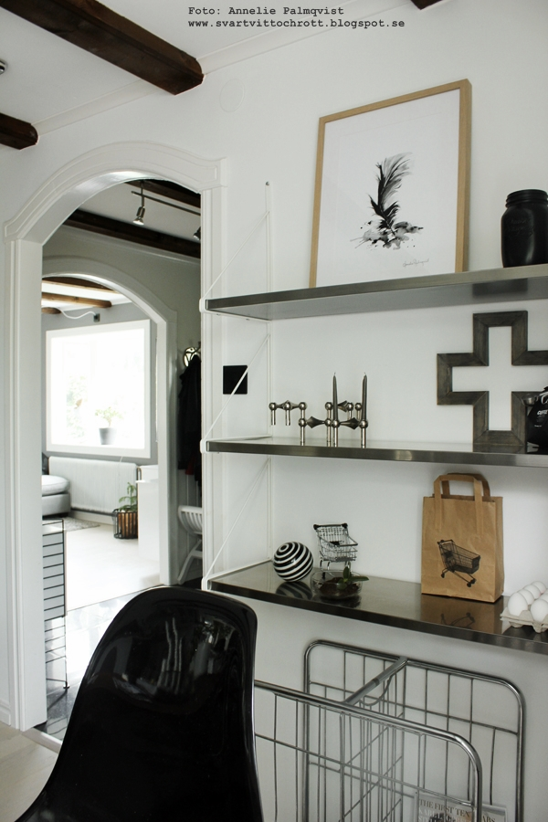 Tavlor Koket : hyllor, rostfritt, ikea, tavla, annelies design & interior, tavlor