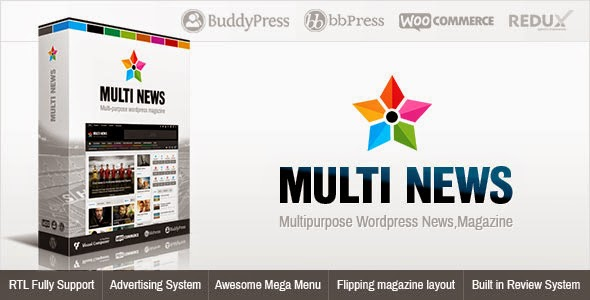 Multinews Multi-purpose Wordpress Theme Download Free [Version 2.4]