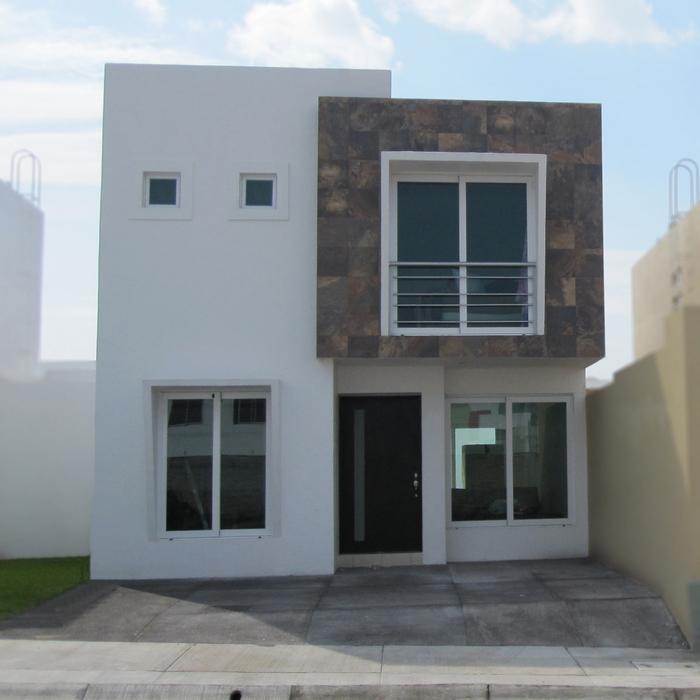 Fachadas contempor neas fachadas contempor neas modelo b2 for Tipos de escaleras para casas de 2 pisos