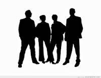 Four silhouettes - image from anysnapshot.com