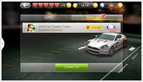 2000 FREE Diamond WeChat Speed