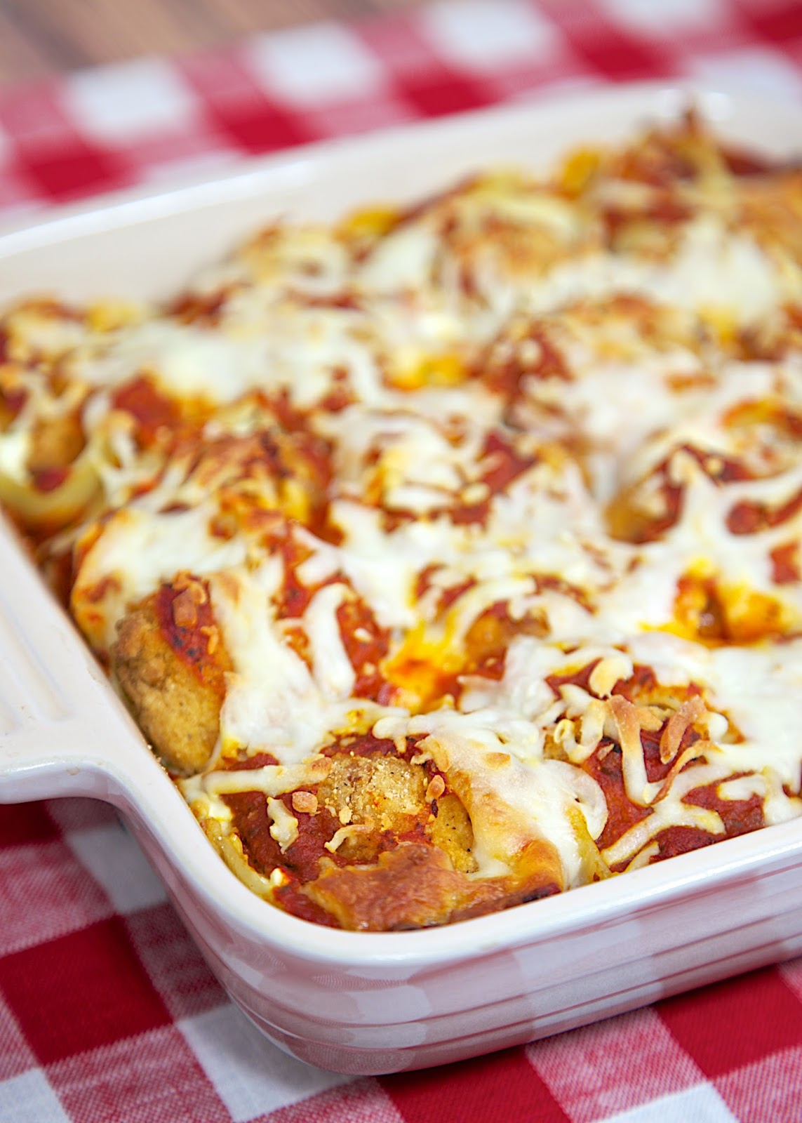 Chicken Parmesan Stuffed Shells Plain Chicken