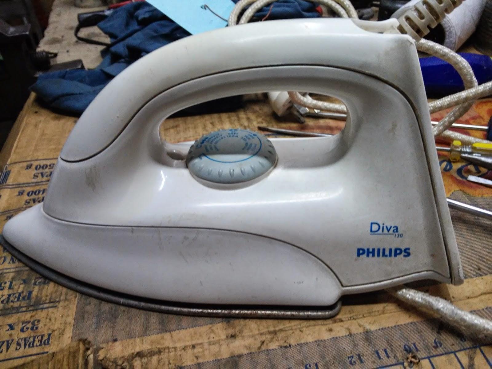 Reparar plancha Philips diva 130