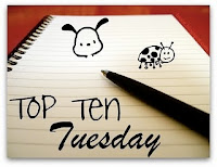 Top Ten Tuesday books made into movies