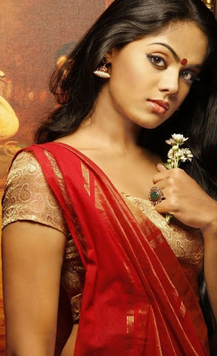 karthika nair in saree