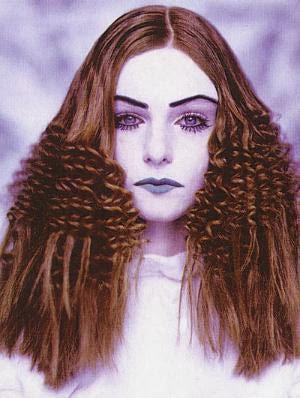 DIY Halloween hair