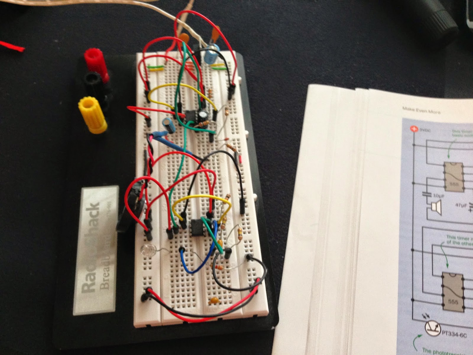 555 556 Computers Electronics Search Engine About How To Build Relay Toggle Circuit Using A Timer I Highly Recommend That As You Wire Up Each Chip Examine Carefully The Wires Connect Pin And Try Understand Exactly What Is