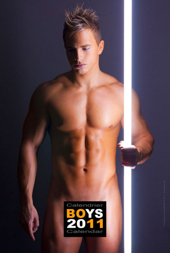 Matt • 'BOYS 2011' Calendar by Lionel André
