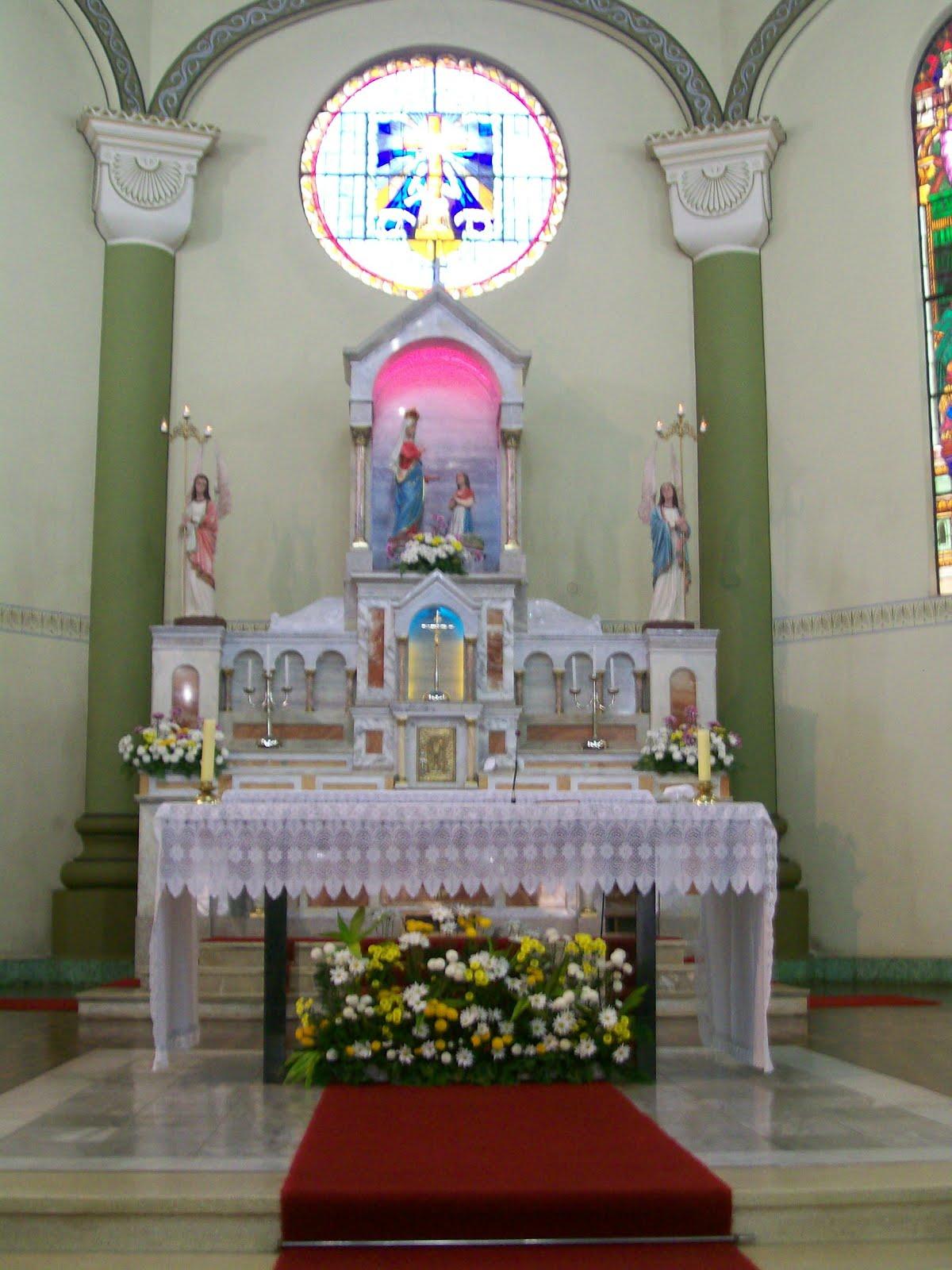 Altar-mor do Santuário