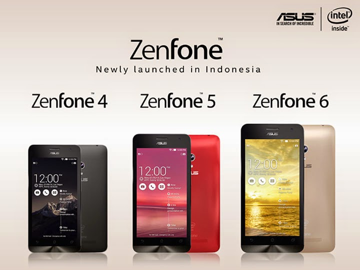 Asus Zenone 4 5 6 Best Android Smartphone 2014