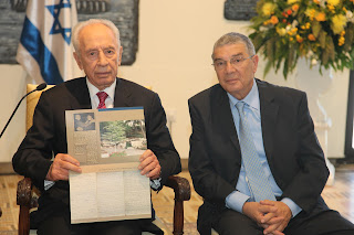 President of Israel Pays Tribute to Righteous Among the Nations Program