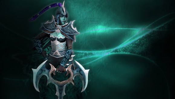 mortred set phantom assassin dota 2 girl hero game hd