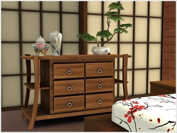 my sims 4 blog asian bedroom set by severinka