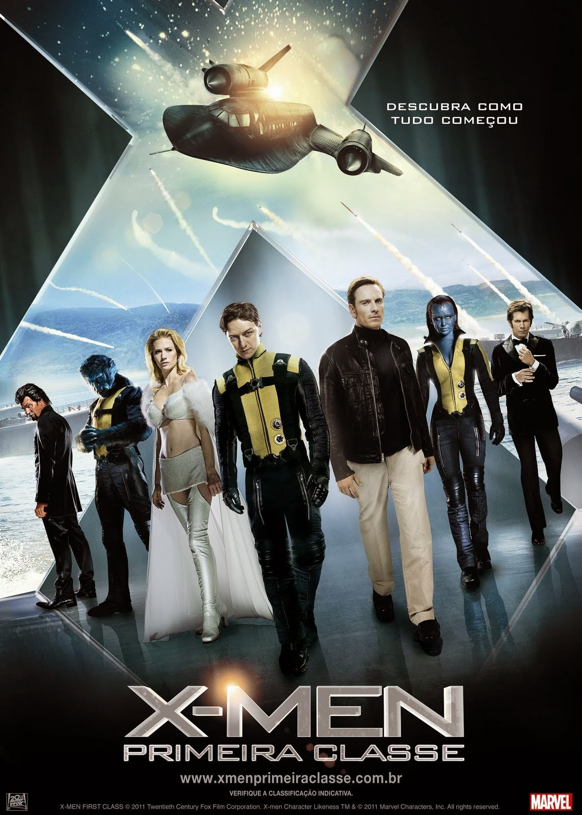 Download Filme X-Men: Primeira Classe BDRip 720p Dublado