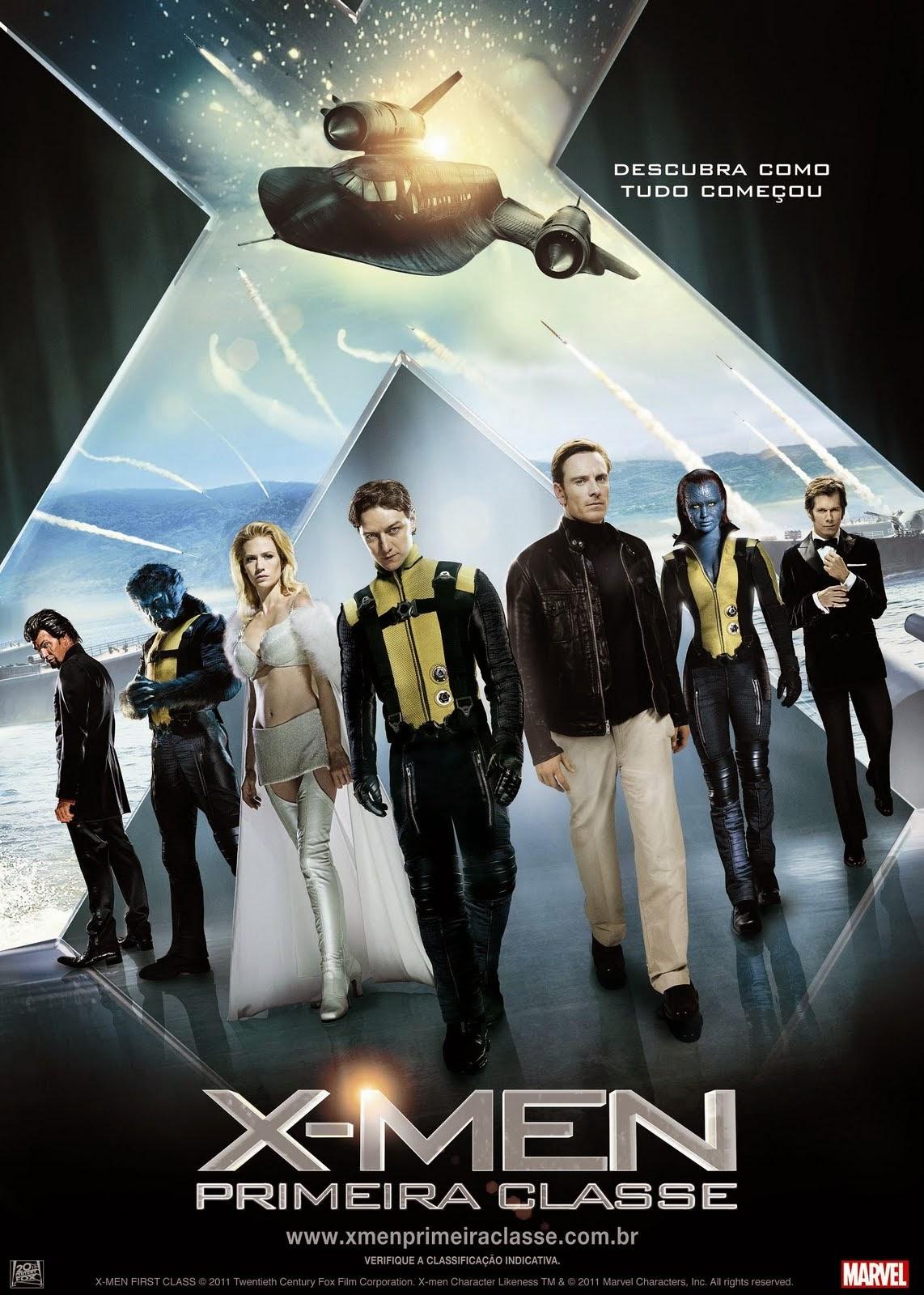 X-Men: Primeira Classe  BDRip 720p Dublado