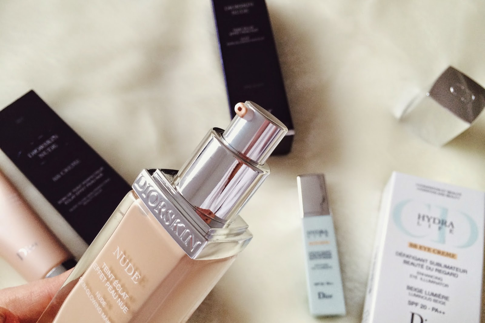FashionFake, UK fashion blog, fashion bloggers, Dior Nude BB cream review, Dior Nude foundation review, Dior BB eye cream review