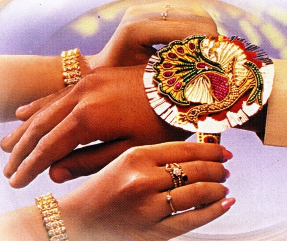 Happy raksha bandhan brother and sister rakhi photo
