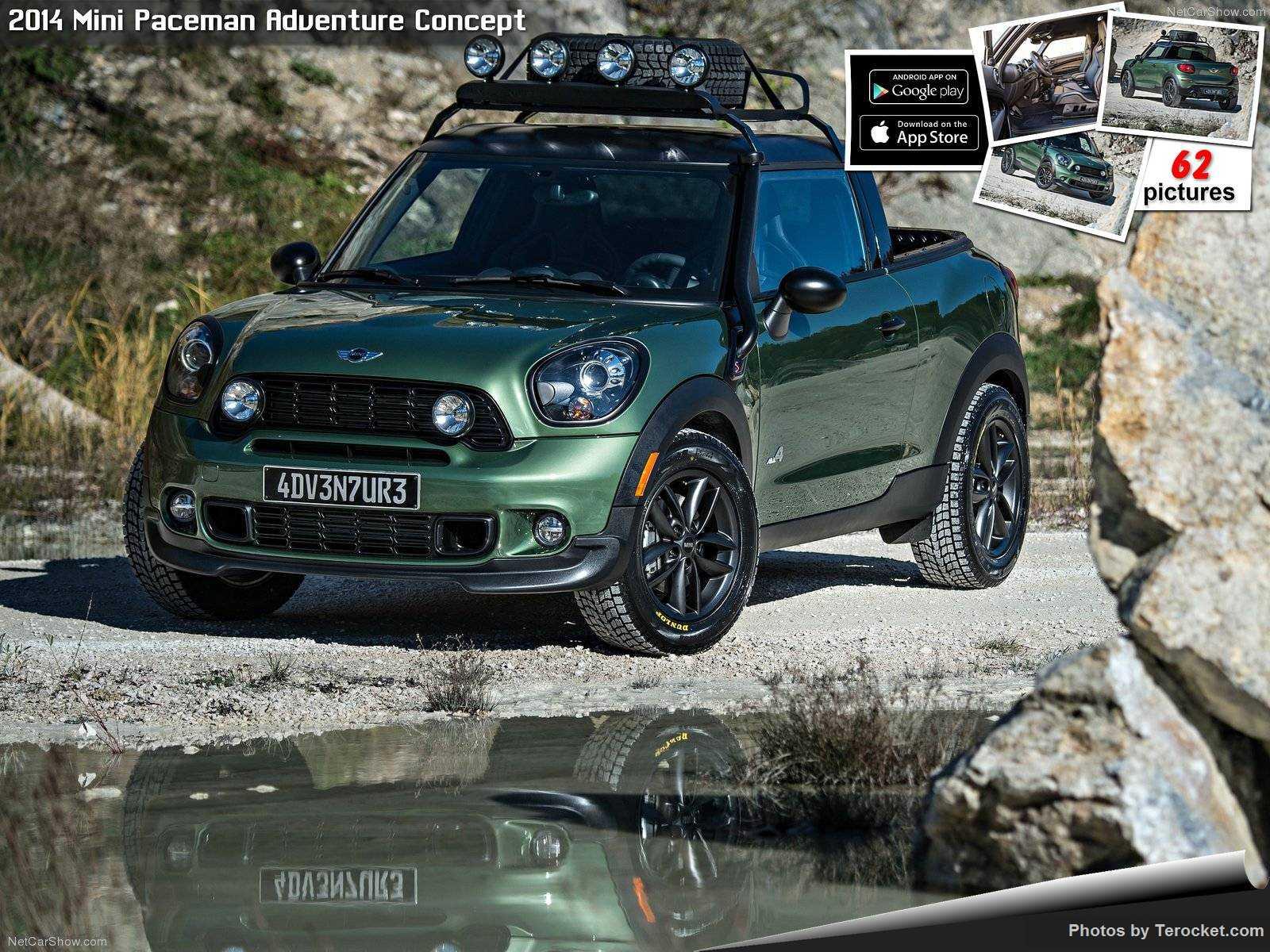Hình ảnh xe ô tô Mini Paceman Adventure Concept 2014 & nội ngoại thất
